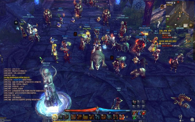 Корейская MMORPG игра ELOA - Elite Lord of Alliance