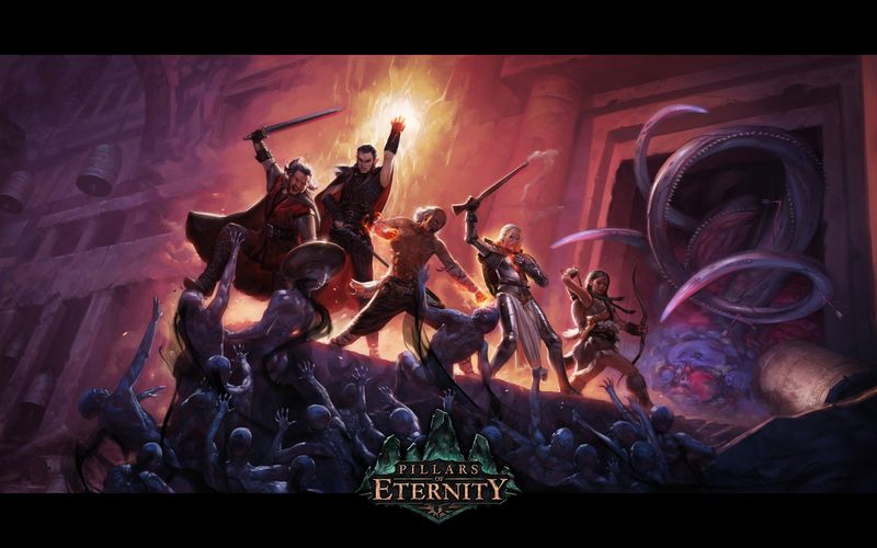 Новая RPG игра Pillars of Eternity с гномами, магией и драконами