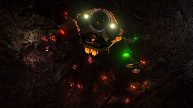 Анонс новой игры Descent Underground