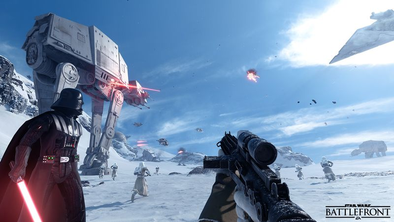 Начинается бета-тест онлайн шутера Star Wars: Battlefront