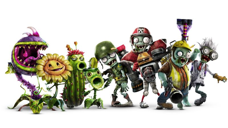 Новая игра Plants vs Zombies: Garden Warfare 2