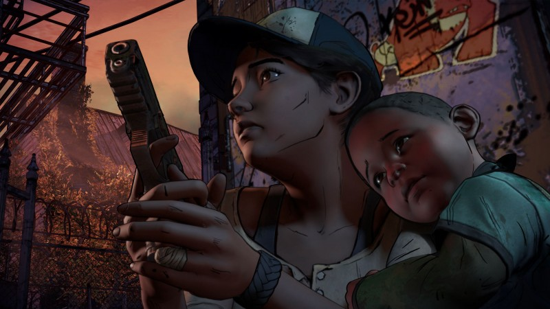 Приключенческая игра The walking dead: a new frontier