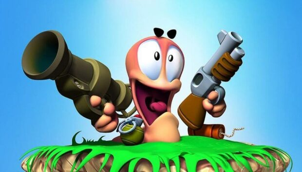 Экшен игра Worms Rumble